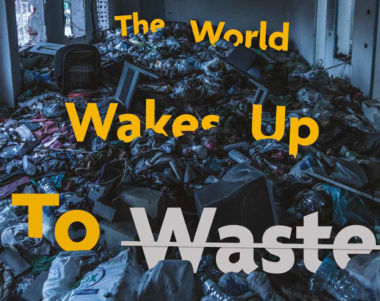 world wakes up to waste journal cover