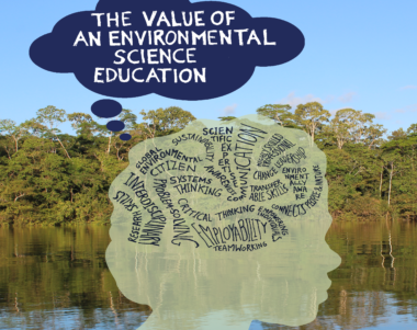 value of an environmental science education journal cover